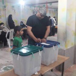 حضور پرشور پرسنل طوس سیر رضوان در انتخابات ۱۴۰۰